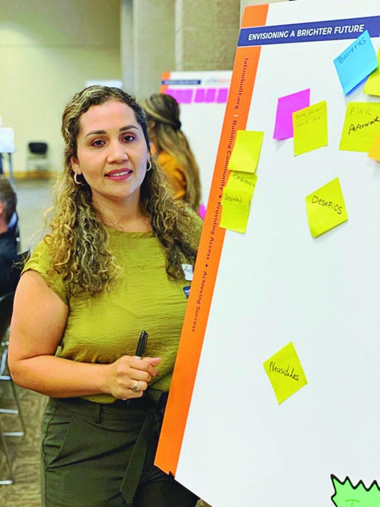 Rosa Martinez, LatinoBuilt President